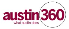 Logo for Austin360.com and Austin360 branding