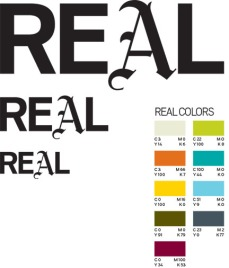 Real Magazine Logos/Swatches